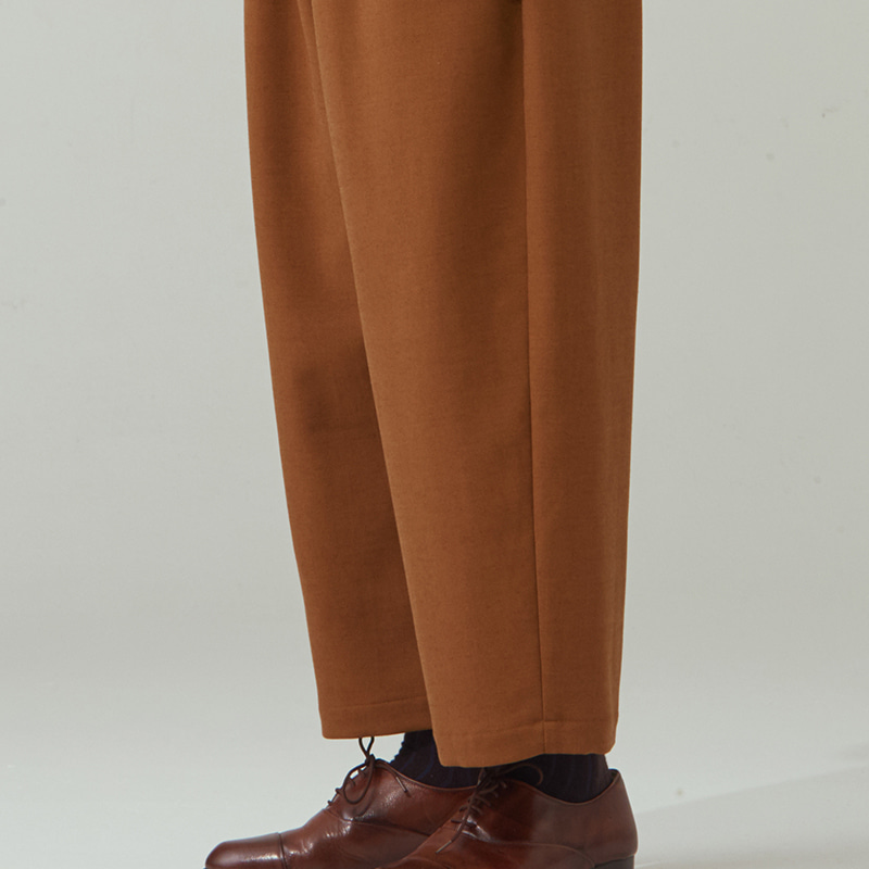 Banding string pants_Camel/Mocha Beige(2colors)