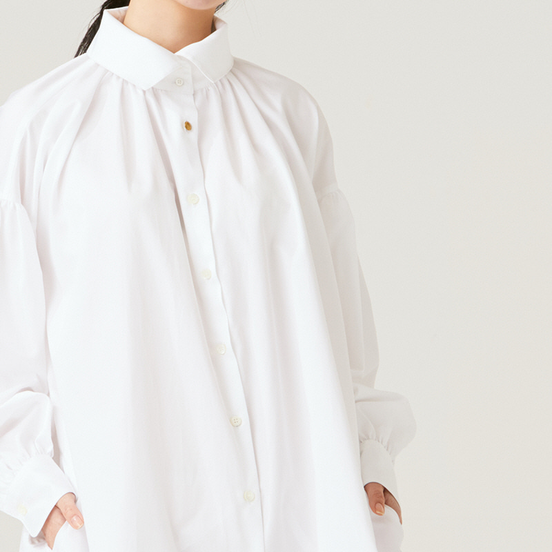 Shirring One piece_Off White