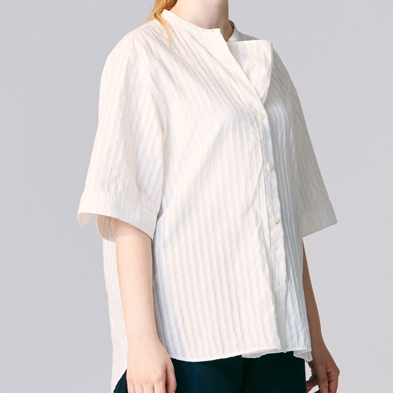 Hiden extra pullover shirts_Off white(Garments Washing Finish)