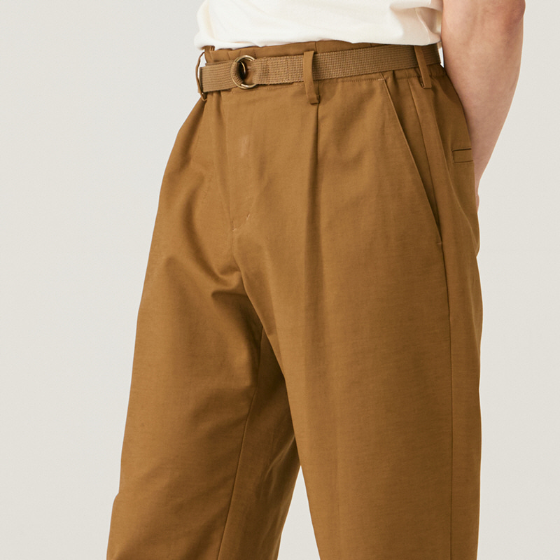 No-tuck banding pants_Beige