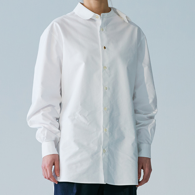 Detachable-collar shirts_Off white